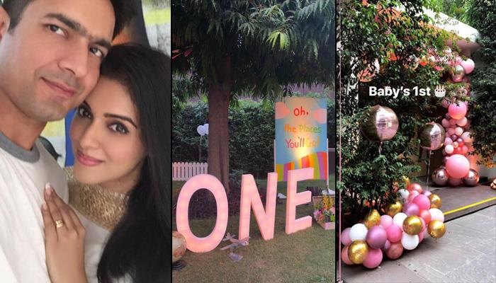 Asin Thottumkal Shares Pictures From Her Baby Girl's First Birthday, It Was A Dreamy-Themed Bash