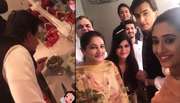 Shivangi Joshi Celebrates Mohsin Khan's Birthday With His Family On The Sets, Pics And Videos Inside