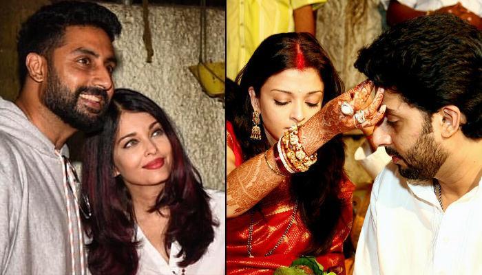 Abhishek Bachchan Keeps Karva Chauth Fast For Aishwarya Rai Bachchan, Has A Message For All Husbands