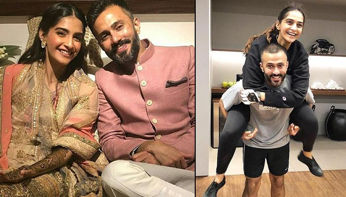 Sonam Kapoor Celebrates First Karva Chauth With Anand Ahuja, Applies Heart-Shaped Mehendi Design