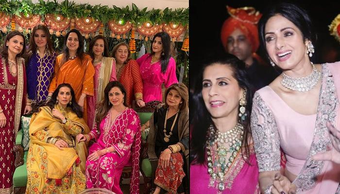 Sunita Kapoor And Maheep Kapoor Missed Their Jethani Sridevi Kapoor At The Karva Chauth Celebrations