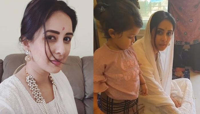 Chahatt Khanna Performs 'Griha Pravesh' Puja In Her New House After Separating With Hubby Farhan