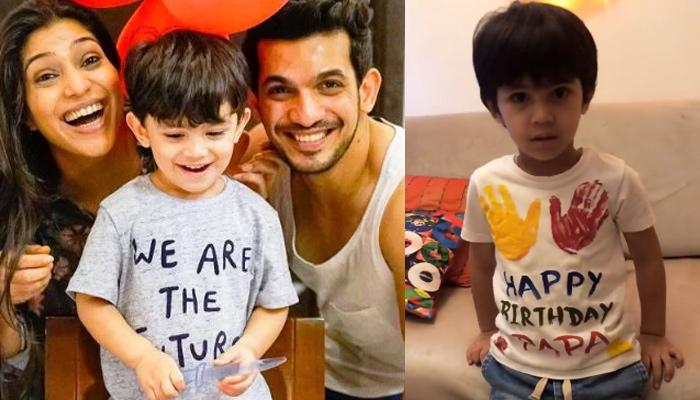'Naagin' Fame Arjun Bijlani's Son Ayaan Celebrates His Daddy's Birthday In The Most Unique Way