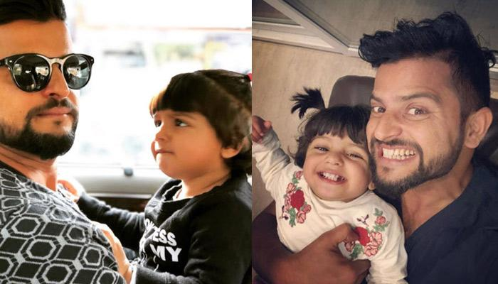 Adorable Moments Of Daddy Suresh Raina With His Princess Gracia Will Surely Make You Go Aww