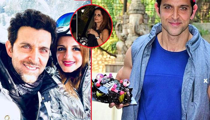 Ex-Wife Sussanne Khan Attends Hrithik Roshan's 44th Birthday Party
