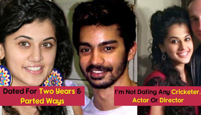 From Dating Tollywood Actor To Badminton Player: Interesting Love Life Of Actress Tapsee Pannu