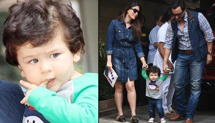 Saif Reveals Watching Taimur Walk For The First Time Was Like Watching A Drunk Baby