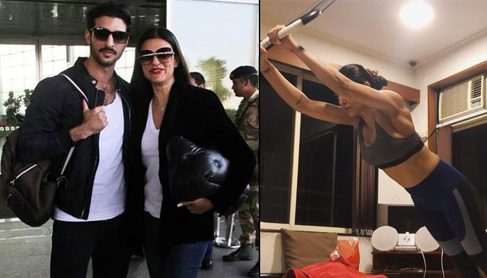 Sushmita Sen's Latest Picture With Rumoured Boyfriend Rohman Shawl Is Giving Couple Fitness Goals