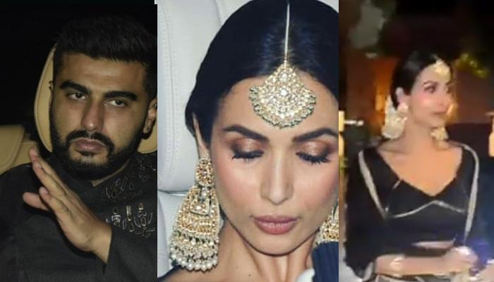 Arjun Kapoor-Malaika Arora Twinning In Black At Abu Jani Sandeep Khosla Diwali Bash Is Couple Goals