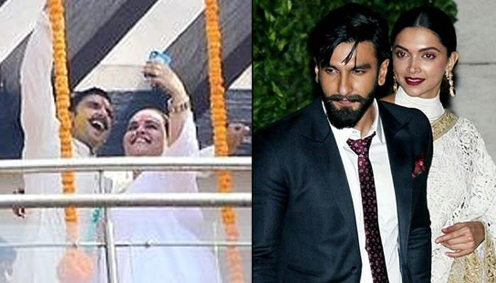 Ranveer Singh Looked Like A Happy Groom On His Haldi Ceremony, Clicked Selfies With Shanoo Sharma