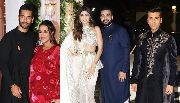 Shilpa Shetty Kundra And Raj Kundra's Star-Studded Diwali Bash, Pictures And Videos Inside
