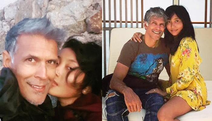 Ankita Konwar Pens An Emotional Poem For Milind Soman On His 53rd Birthday With A Cosy Picture