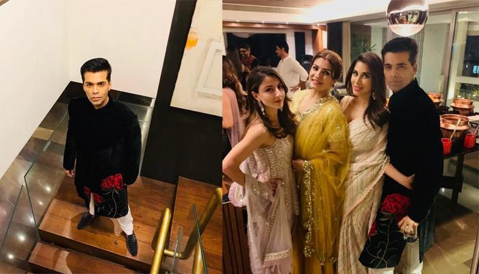 Lovebirds Malaika-Arjun, Farhan-Shibani And Others Attend Karan Johar's Diwali Bash, Pictures Inside