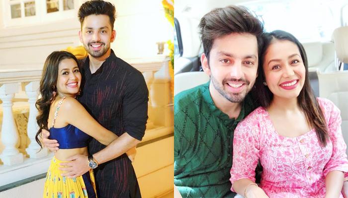 Neha Kakkar And Himansh Kohli Celebrate Diwali Together, Call Each Other 'My Cuteness' And 'My Bomb'