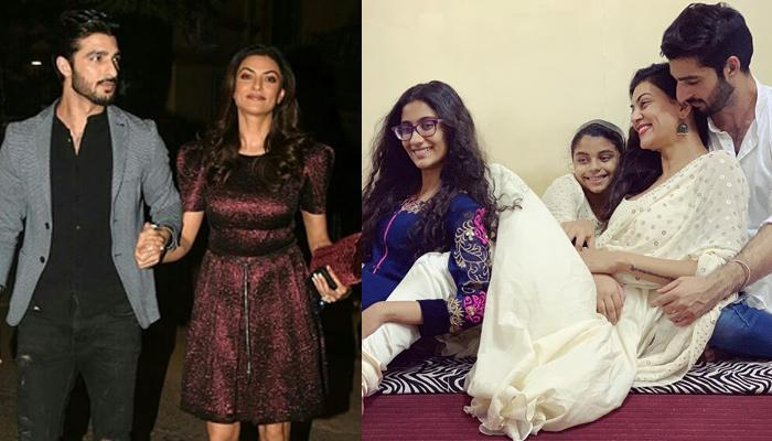 Sushmita Sen And Boyfriend Rohman Shawl Spend Their First Dreamy Diwali With Kids And Family