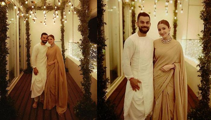 Anushka Sharma And Virat Kohli Celebrate First Diwali Post-Marriage, They Look Dreamy Together