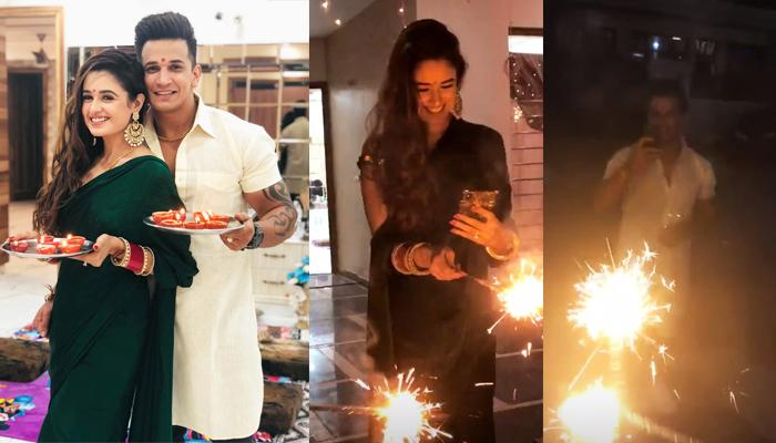 Prince Narula And Yuvika Chaudhary's First Diwali Together Post-Marriage, Pictures Inside
