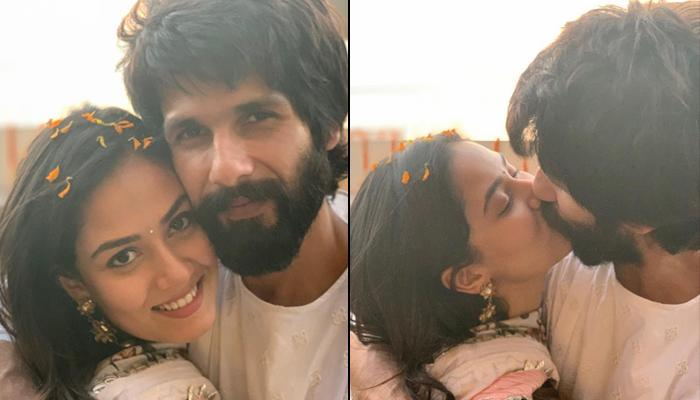 Mira Rajput Kapoor And Shahid Kapoor Share A Passionate Kiss On Diwali, Get Trolled On Social Media