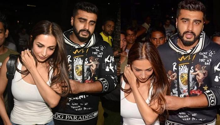 Arjun Kapoor And Malaika Arora Khan Enjoy A Quiet Dinner Date, He Was All Possessive About Her