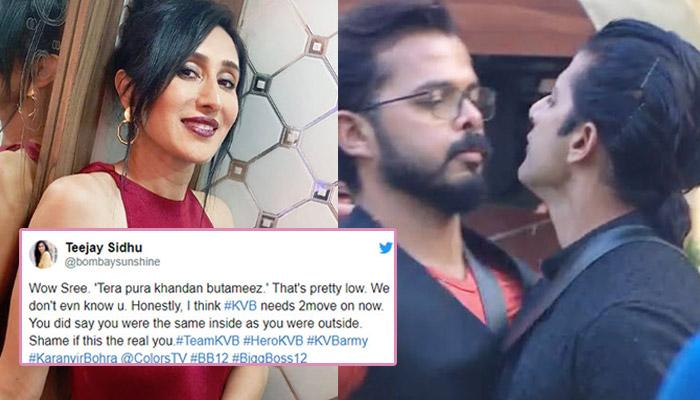 Karanvir's Wife Teejay Slams Sreesanth For Calling Their Family 'Batemeez', Sree's Fans Defend Him