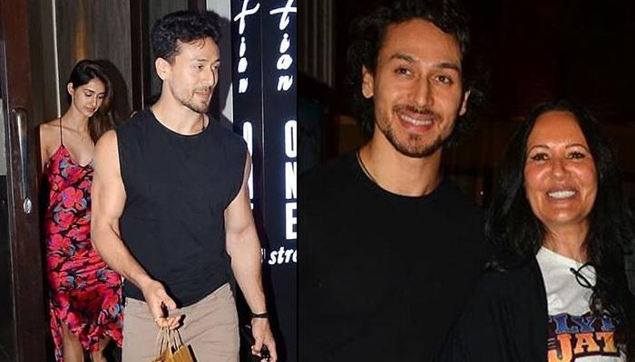 Disha Patani And Tiger Shroff Dine Out With His Mother Ayesha Shroff, Amidst Their Break Up Rumours