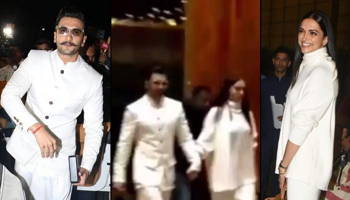 Deepika Padukone And Ranveer Singh Twin In White As They Leave For Italy Wedding Along With Family