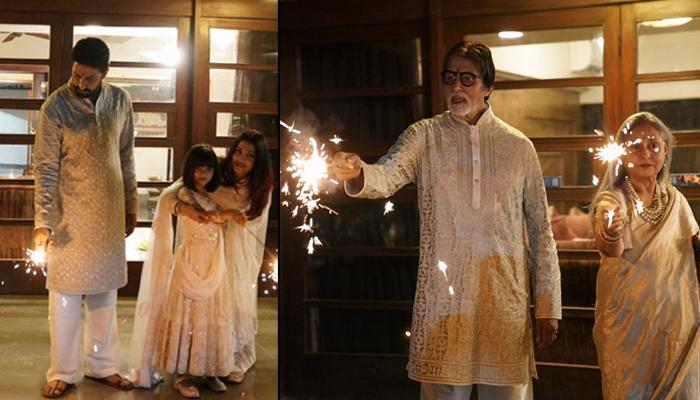 Amitabh Bachchan Gets Mercilessly Trolled For Not Celebrating Cracker-Free Diwali Along With Family