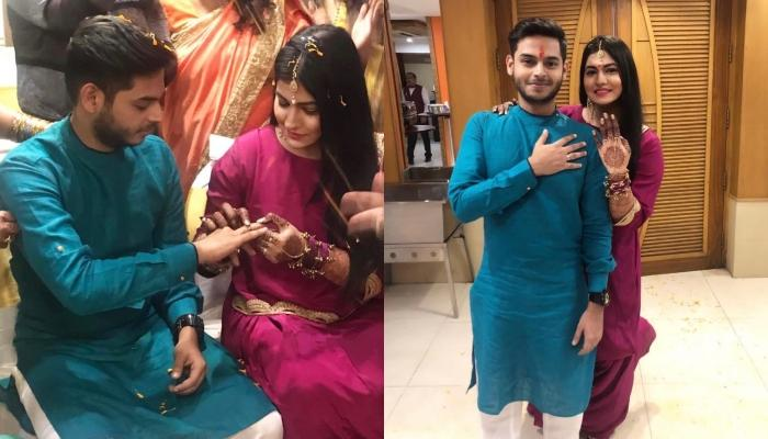 Subuhi Joshi And Comedian Sidharth Sagar Get Engaged In The Absence Of His Parents, Pics Inside!