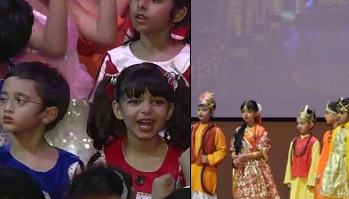 Aaradhya Bachchan And Azad Rao Khan Perform As Sita And Ram At The Dussehra Assembly, Video Inside