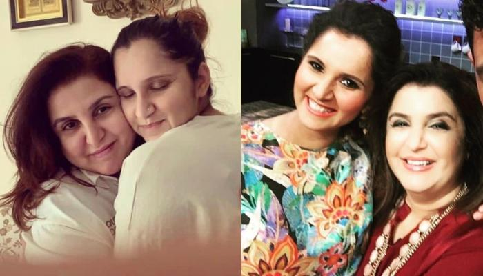 Newbie Mom Sania Mirza's Best Friend Farah Khan Visits Her Newborn Son, Says The Baby Is Gorgeous