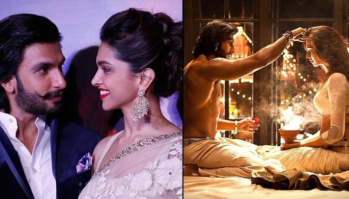 Deepika Padukone And Ranveer Singh's Love Story Started With A Passionate Kiss In 'Ang Laga De' Song