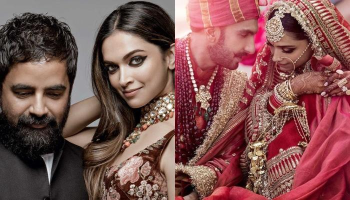 Deepika Padukone Became A Sabyasachi Bride On Both Days, Did You Notice Her Unique Dupatta?