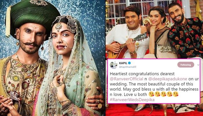 Deepika Padukone And Ranveer Singh Wedding, Wishes Pour In From Their Friends In The Industry