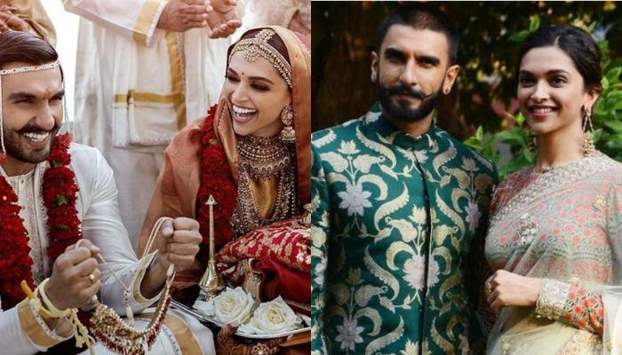 Ranveer Singh And Deepika Padukone's Unseen Picture With His Team From Their Konkani Wedding