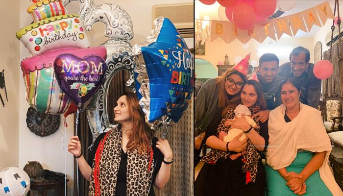 Sania Mirza Rings In Her 32nd Birthday With Shoaib Mirza And Newborn Izhaan Mirza Malik, Pics Inside