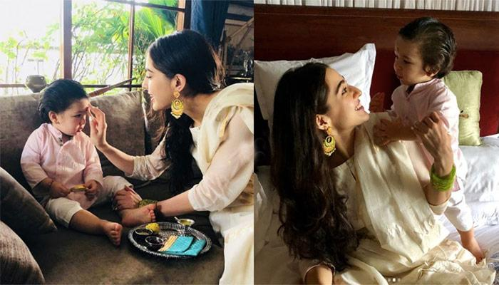 Taimur Ali Khan Has A Unique Name For Step-Sister Sara Ali Khan And It's Cute Beyond Our Imagination