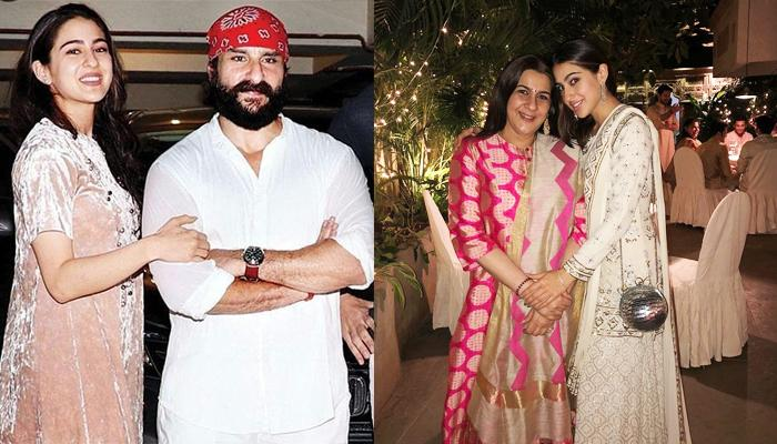 Sara Ali Khan Reveals Papa Saif And His Ex-Wife, Amrita Are Happier Now Than When They Were Married