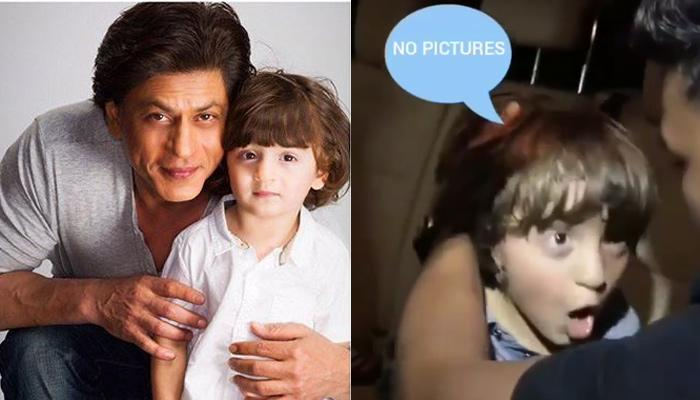 Angry AbRam Khan Shows How To Deal With Paparazzi, Yells At Media For Clicking His Pictures