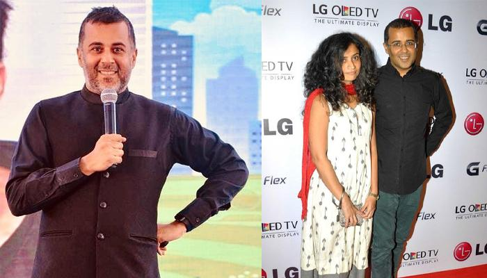 Chetan Bhagat Asked His Wife Anusha To Leave Him, Compares His Marriage To Shiva And Parvati