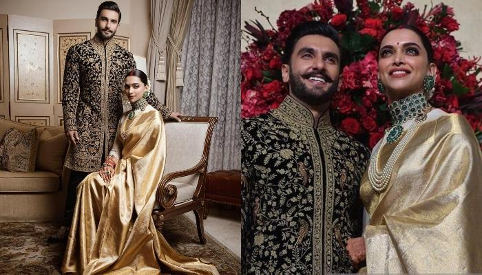 Deepika Padukones Reception Saree Is A Gift From Her Mom Its A