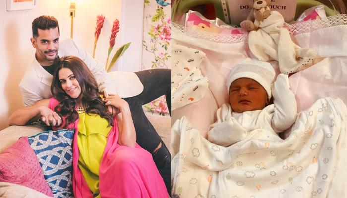 Neha Dhupia's Baby, Mehr Dhupia Bedi Smiles When Mommy Whispers These Words In Her Ears