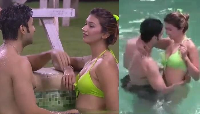 Jasleen Matharu And Rohit Suchanti Perform A Steamy Dance On 'Tareefan' Inside The 'Bigg Boss' Pool