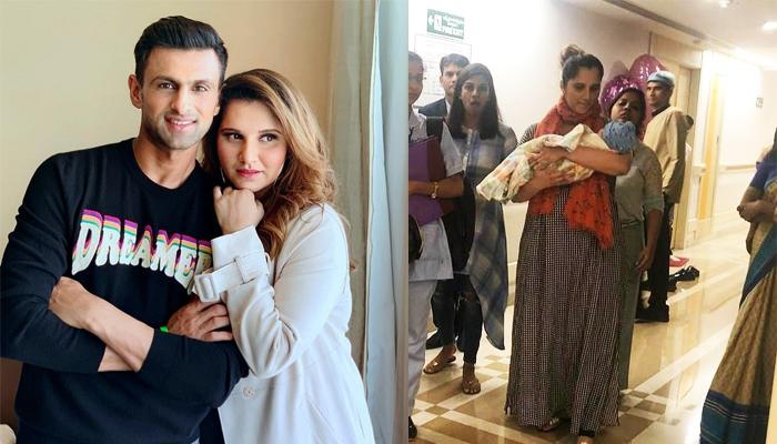 Sania Mirza Shares A New Photo Of Baby Izhaan Wrapped In His Customized Woollen Blanket