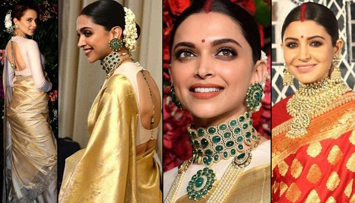 Deepika Padukone's Bangalore Reception Look Trolled, Compared To Anushka Sharma And Kangana Ranaut