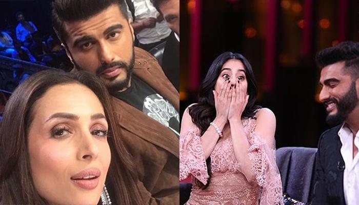 Arjun Kapoor Confirms He Is Dating Malaika Arora Khan, Here's How Janhvi Kapoor Reacted
