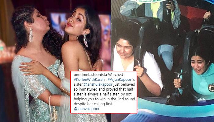 Anshula Kapoor Trolled For Making Janhvi Kapoor Feel Like An 'Unloved Child' On Koffee With Karan