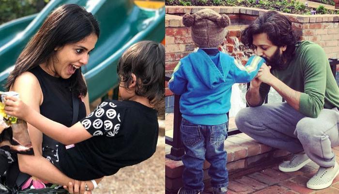 Genelia Deshmukh And Riteish Deshmukh Make The Greatest Wish For Son Riaan On His Birthday