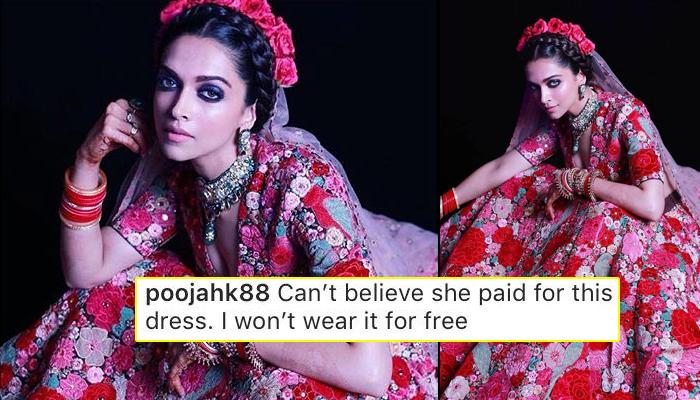 bbe19c62911b02 Deepika Padukone And Sabyasachi Mukherjee Trolled Again For Her  Frida  Kahlo Inspired Look