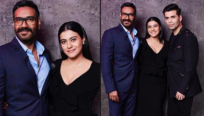 Ajay Devgn Calls Wife Kajol 'Old' On 'Koffee With Karan', Her Reaction Will Leave You In Splits
