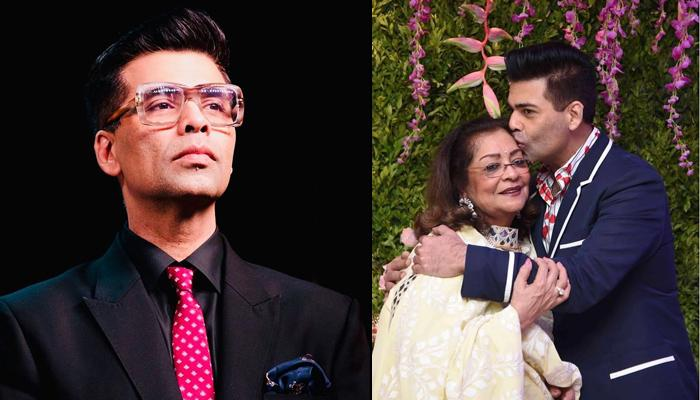 Karan Johar On Masculinity, Says He Has Been Both A Son And A Daughter To His Mother, When Required